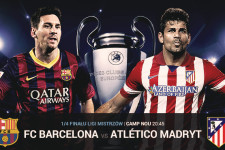 Messi i Diego Costa w pojedynku Champions League