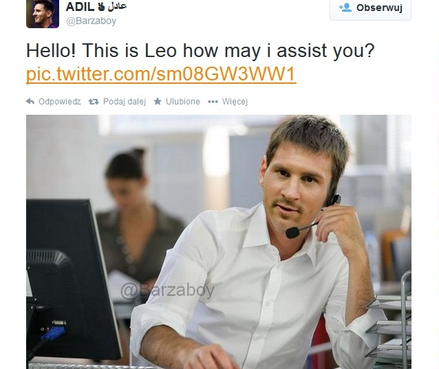 Messi how can I