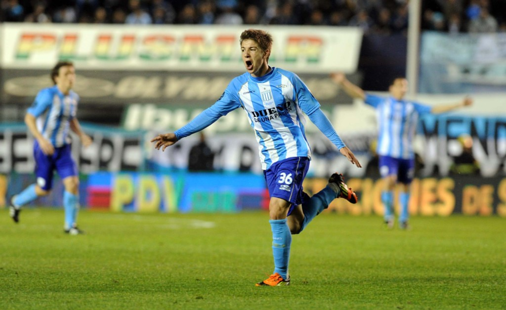 Vietto w Racingu Foto: ultimecalcionapoli.it