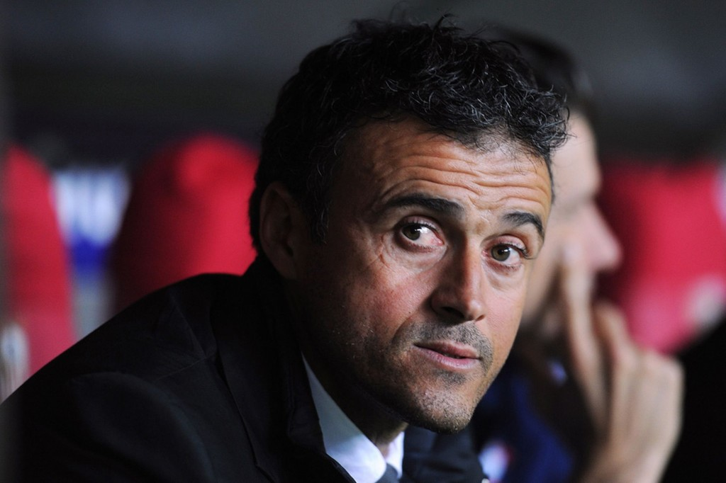 Luis Enrique Foto: Daily Mirror