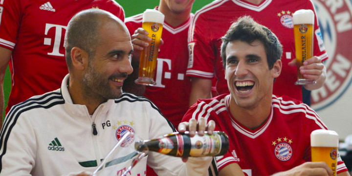 Guardiola i Javi Martinez