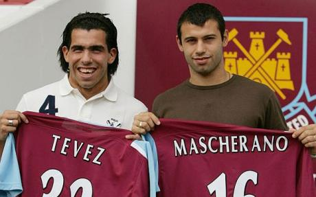 Tevez i Mascherano trafiają do West Hamu | Foto: The Telegraph