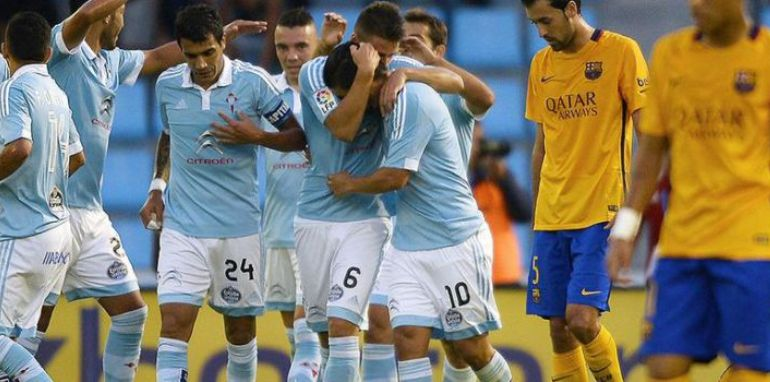 Celta agains Barca